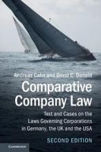 Cahn, Andreas,   Donald, David C. Comparative Company Law