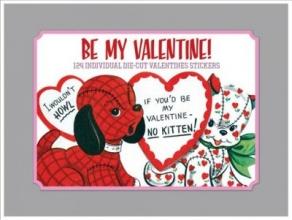 Be My Valentine - Vintage Stickers