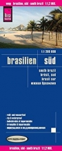 , Reise Know-How Landkarte Brasilien, Süd 1 : 1.200.000