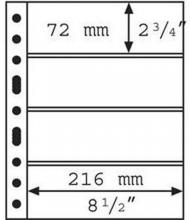 , Verzamelbandbladen grande 4 onder elkaar 4c