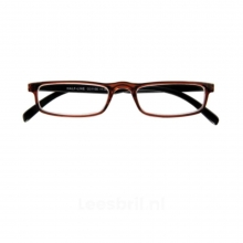 G31100 2.5 , I need you leesbril relax half-line bruin-zwart 2.50