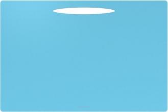 , Bureauonderlegger quatro colori aquablauw