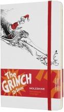 , Moleskine LE Notitieboek Dr. Seuss Notebook Large (13x21 cm) Gelinieerd Wit