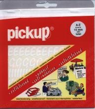 12210015 w , Pickup vivace a-z 15 mm wit
