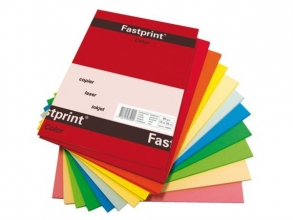 , Kopieerpapier Fastprint A4 120gr 10kleuren x10vel 100vel