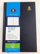 , Ryam zakagenda 2021  memoplan 1dpp mundior blauw