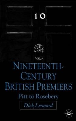 D. Leonard,Nineteenth Century Premiers