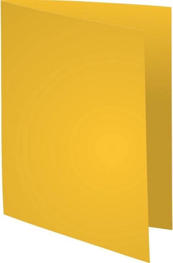 ,Vouwmap Exacompta Super A4 80gr geel
