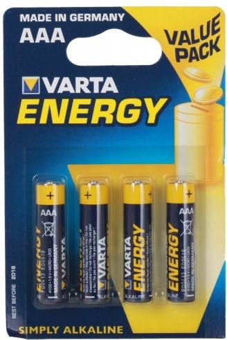 ,Batterij Varta energy 4xAAA