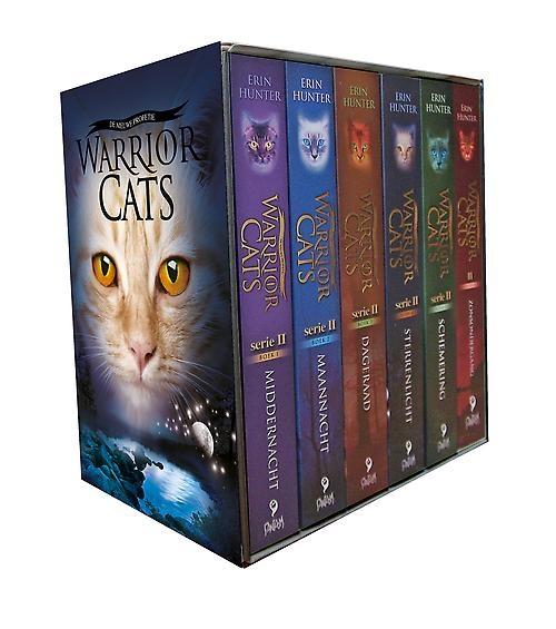 Erin  Hunter,Warrior cats serie ii cadeaubox 6 paperback boeken