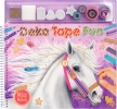 ,<b>Miss melody kleurboek met masking tapes</b>