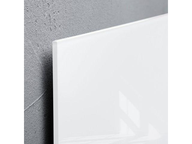 ,glasmagneetbord Sigel Artverum 300x300x15mm super wit