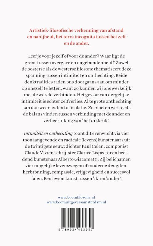 Michel Dijkstra,Intimiteit & onthechting