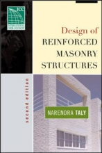Taly, Narendra Design of Reinforced Masonry Structures