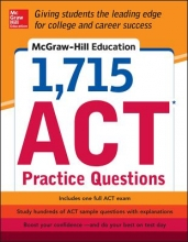 McGraw-Hill Education 1715 ACT Practice Questions