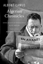 Camus, Albert Algerian Chronicles
