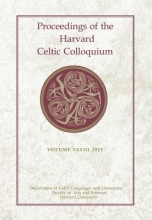 Brannelly, Liam Anton Proceedings of the Harvard Celtic Colloquium, 33: 2013