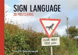 The Daily Telegraph Daily Telegraph Sign Language Postcard Book