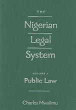 Mwalimu, Charles The Nigerian Legal System