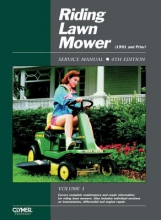 Penton Riding Lawn Mower Service Manual Volume 1