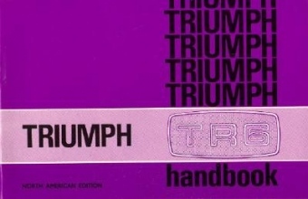 Triumph TR6 Official Owners` Handbook