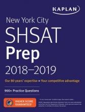 Kaplan New York City SHSAT Prep 2018-2019