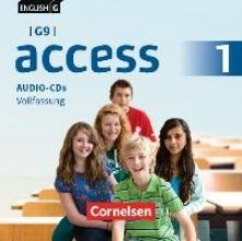 English G Access - G9 - Band 1: 5. Schuljahr - Audio-CDs