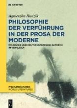 Hudzik, Agnieszka Helena Philosophie der Verführung in der Prosa der Moderne