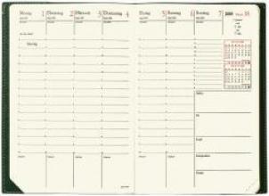 Minister Prestige 2017 Schreibtisch-Terminkalender Soho Schwarz