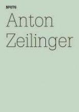 Zeilinger, Anton Anton Zeilinger