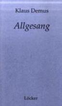 Demus, Klaus Allgesang