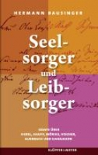 Bausinger, Hermann Seelsorger und Leibsorger