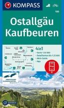 , Ostallgäu, Kaufbeuren 1:50 000