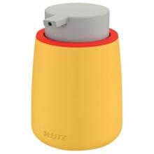 , Dispenser Leitz Cosy voor handzeep 300 ml geel