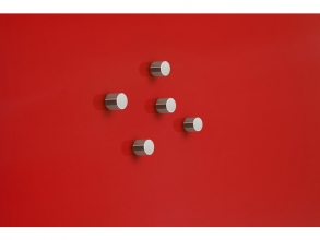 , magneet voor glasbord Sigel rond 10mm Strong 5 stuks