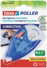 , Correctieroller Tesa 8.4mmx14m ecoLogo navulbaar op blister