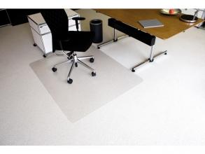 , vloermat Kangaro voor tapijt 120 x 150 cm transparant PET   2,1mm/nop 2,1