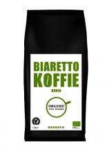, Koffie Biaretto bonen regular biologisch 1000gr