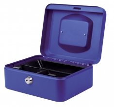 , Geldkist Pavo 200x160x90mm blauw