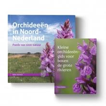 Hans Dekker , Set: Orchideeën in Noord-Nederland + Kleine orchideeëngids