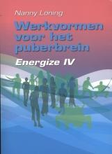Nanny  Löning Werkvormenboek voor het puberbrein Energize IV