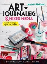 Marieke  Blokland Art journaling en mixed media