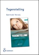 Geertrude  Verweij Tegenstelling - dyslexie uitgave