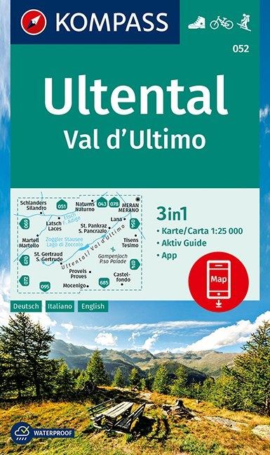 KOMPASS-Karten GmbH,KOMPASS Wanderkarte Ultental, Val d`Ultimo