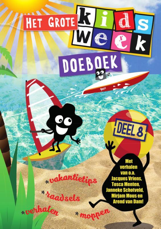,Het grote Kidsweek doeboek deel 8