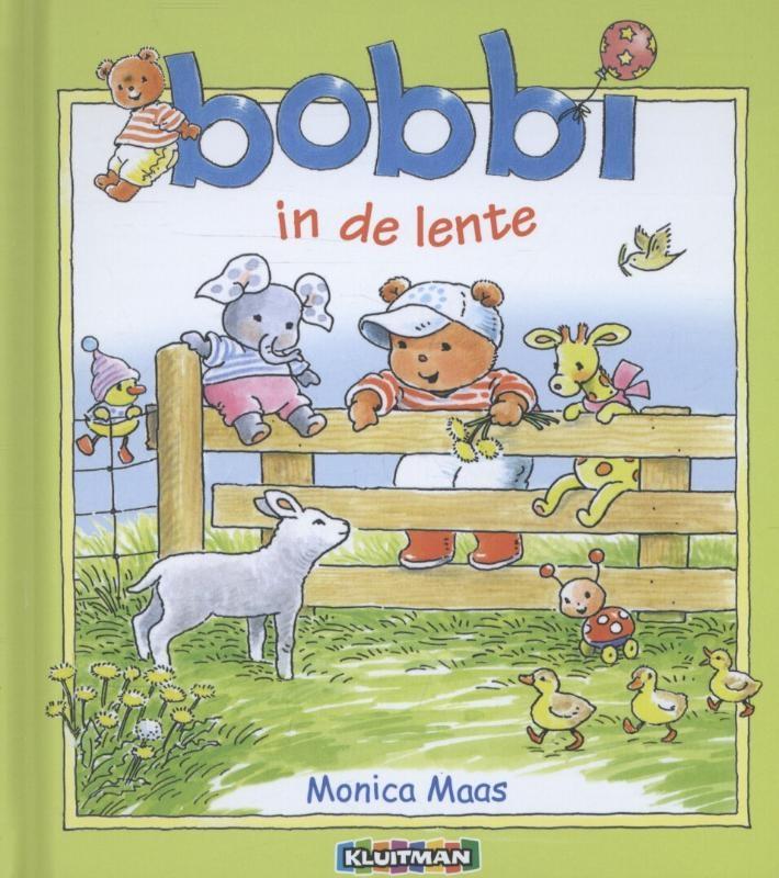 Monica Maas, Heleen Groenendijk,Bobbi in de lente