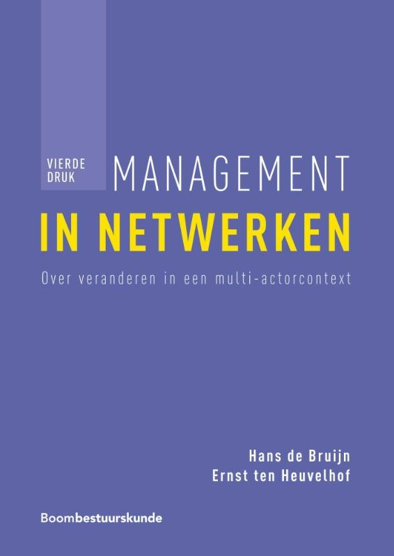 Hans de Bruijn, Ernst ten Heuvelhof,Management in netwerken