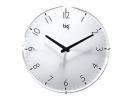 ,wandklok TIQ diameter 300 mm glas witte wijzerplaat