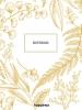 ,Happinez botanical notebook wit