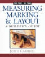Carroll, John Measuring, Marking & Layout
